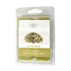 Green Tree - White Sage Wax Melts 6 cubes
