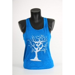 YogaStyles singlet ohm/boom turkoois one size